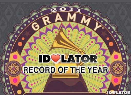 2011 Grammy Awards Record Of The Year prediction