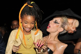 The Morning Mix: Willow And Gaga Get Cozy At The 2011 Grammys