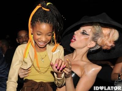 Lady Gaga Willow Smith