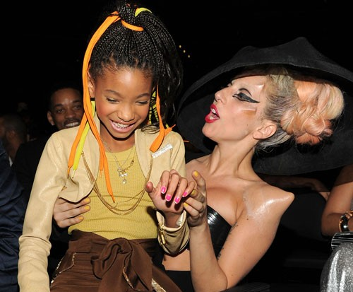 Lady Gaga Willow Smith