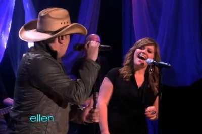 Jason Aldean Kelly Clarkson Don't You Wanna Stay The Ellen Degeneres Show