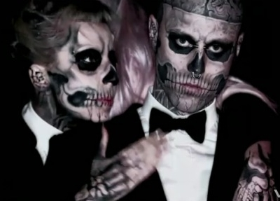Lady Gaga Born This Way music video