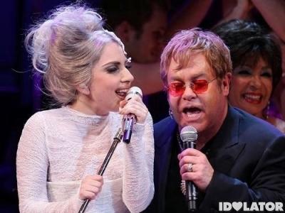Lady Gaga Elton John