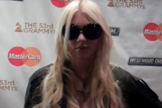 Taylor Momsen Takes Part In MasterCard's VIP Grammy Experience