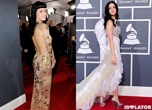 katy perry grammys fashion