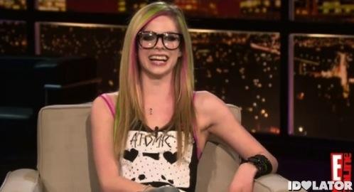 Avril Lavigne Chelsea Lately Handler