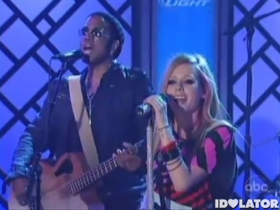 Avril Lavigne Jimmy Kimmel Live What The Hell