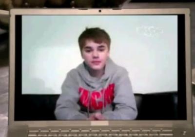 Drake Justin Bieber Juno Awards 2011 Skype