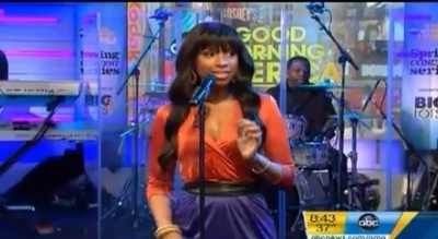 Jennifer Hudson Good Morning America GMA Where You At