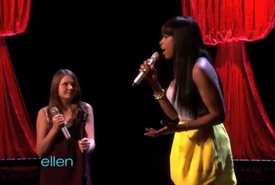 Jennifer Hudson Savannah Robinson The Ellen DeGeneres Show