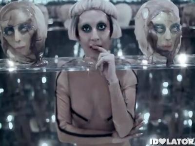 Lady Gaga Born This Way music video