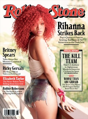 RIhanna Rolling Stone cover April 2011