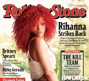 RIhanna cropped Rolling Stone cover April 2011