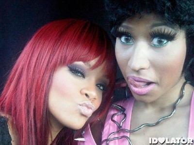 Rihanna-Nicki-Minaj-Fly-video-set