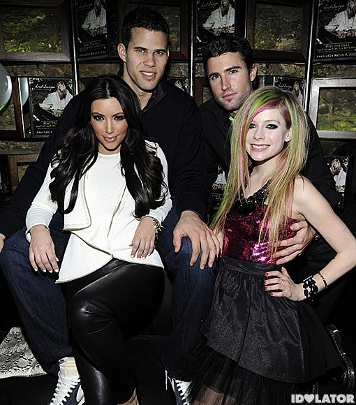 Avril Lavigne 'Goodbye Lullabye' party