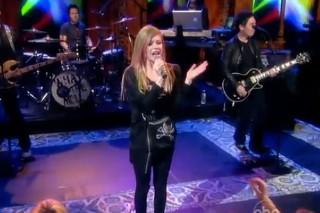 """Avril Lavigne Raises """"What The Hell"""" On The 'The View'"""