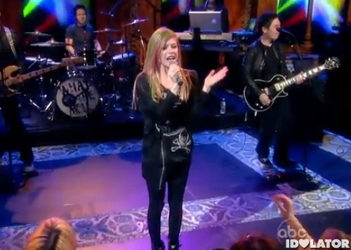 avril lavigne the view