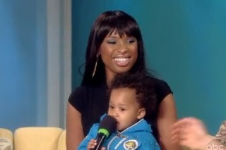 Jennifer Hudson Brings Her Baby Boy On 'The View'