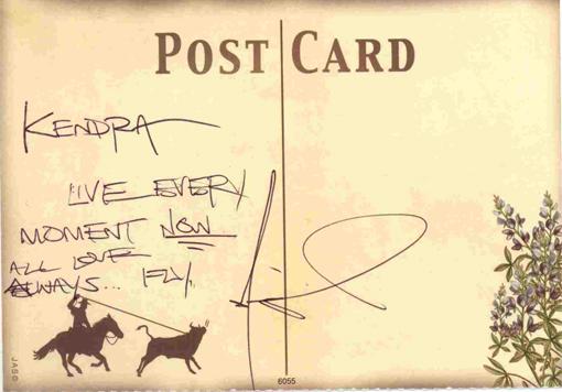 miguel postcard