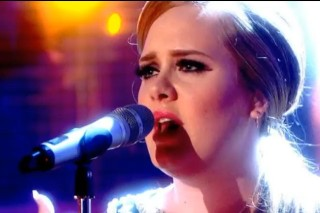 "Adele Pops Up On 'Graham Norton' To ""Set Fire To The Rain"""