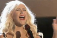 "Watch Christina Aguilera & The 'Voice' Judges Belt Out Gnarls Barkley's ""Crazy"""