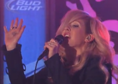 Ellie Goulding Jimmy Kimmel Live Starry Eyed