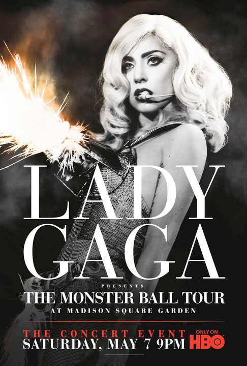 Lady Gaga HBO The Monster Ball Tour Madison Square garden