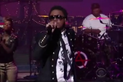 Lupe Fiasco David Letterman Show Goes On Late Show