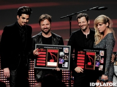 Max Martin Dr. Luke Ke$ha Adam Lambert ASCAP Awards Pop Music