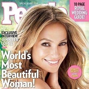 People Magazine Jennifer Lopez World's Most Beautiful Woman