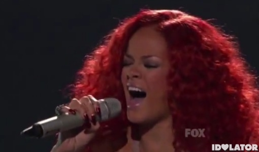 Rihanna American Idol California King Bed