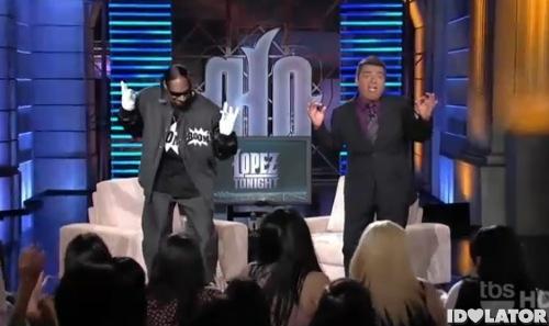 Snoop Dogg Lopez Tonight Doggumentary Boom