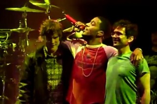 Kid Cudi Pursues Happiness On Stage With MGMT At The Roseland Ballroom