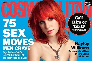 Hayley Williams Covers 'Cosmopolitan' (PHOTOS)