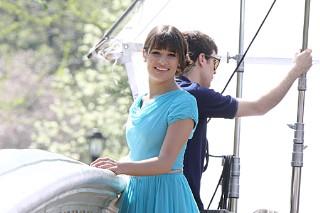 'Glee' Invades Central Park (PHOTOS)