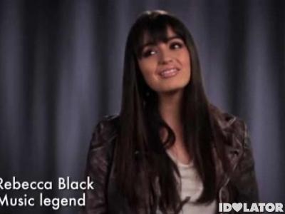 rebecca black funny or die