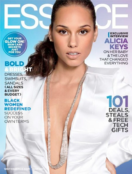 Alicia Keys Essence June 2011 2