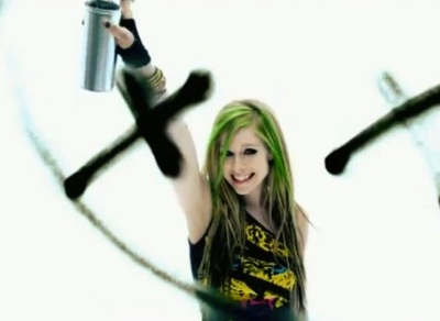 Avril Lavigne Smile music video
