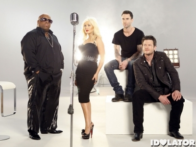 Christina Aguilera – 'The Voice Promo Shoot 2011 (1)