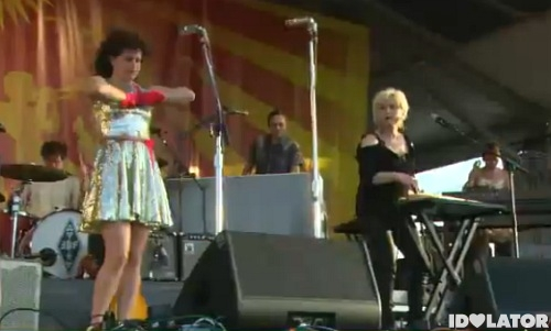 Cyndi Lauper Arcade Fire New Orleans Jazzfest 2011