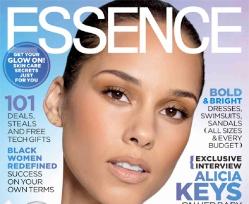 Essence Alicia Keys cover