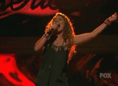 Haley Reinhart The Animals House Of The Rising Sun American Idol Top 5
