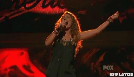 Haley Reinhart The Animals House Of The Rising Sun American Idol Top 5