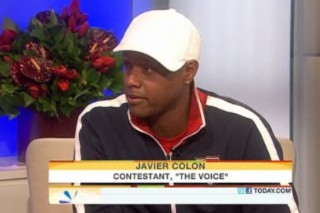 'Voice' Contestant Javier Colon Discusses His Record Deal Past On 'Today Show'