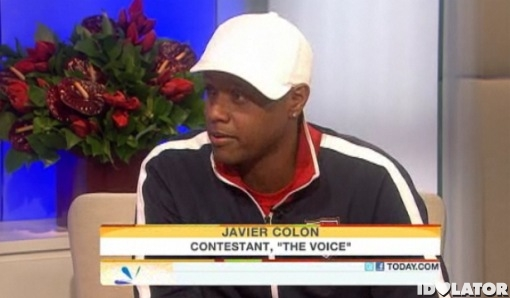 Javier Colon The Voice Today Show interview