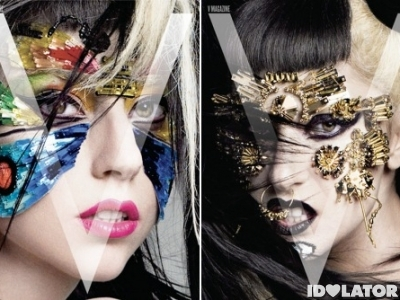 Lady Gaga V Magazine Asian Issue 2011