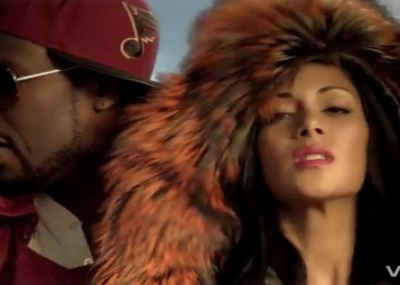 Nicole Scherzinger 50 Cent Right There music video
