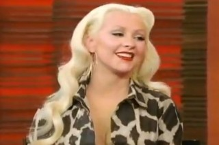 Christina Aguilera Drops More Details On Her Upcoming Album On 'Regis & Kelly'