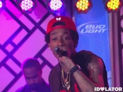 Wiz Khalifa Roll Up Jimmy Kimmel Live