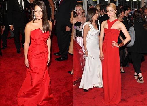 Lea Michele Dianna Agron